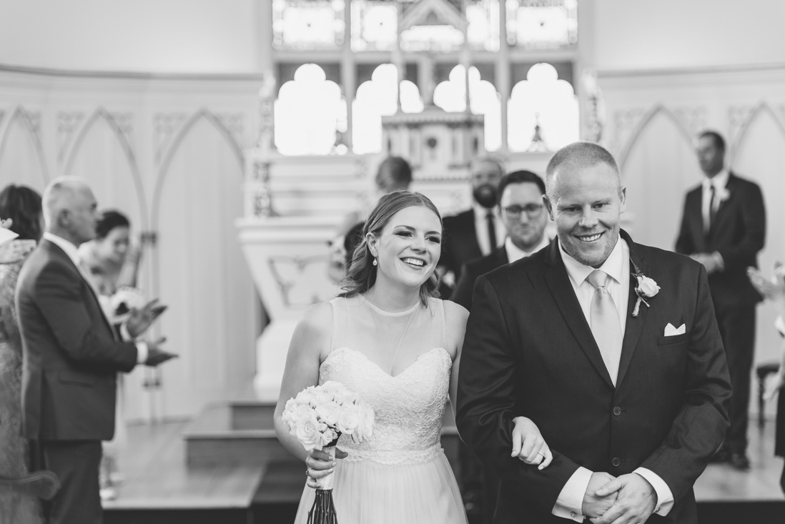 St Mary's Chapel wedding